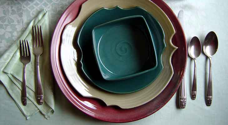 Casual & formal custom dinnerware.